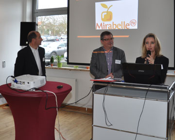 Plein Succès du Business Lunch MIRABELLE TV