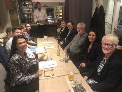 Weihnachtsstammtisch 2018 des Club des Affaires Saar-Lorraine